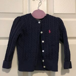 Ralph Lauren baby blue sweater